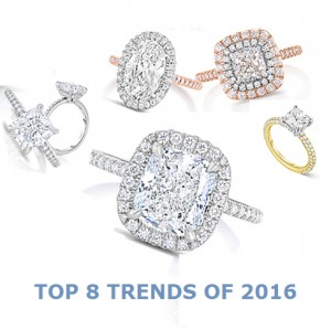 Top Custom Engagement Ring Trends for 2016
