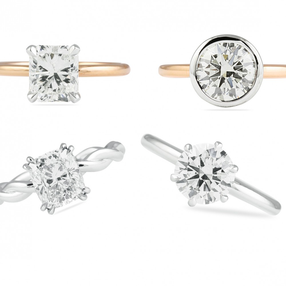 ADDING STYLE TO YOUR SOLITAIRE RING