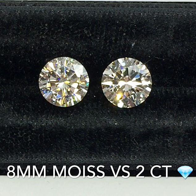 Faceoff Diamonds Vs Moissanite A Side By