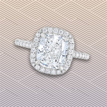 Diamond Alternatives | Diamond Alternative Engagement Ring