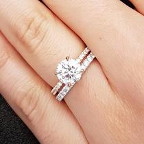 Colored Metal Engagement Rings