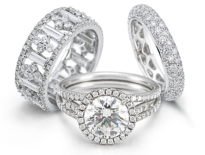 engagement rings diamond halo bridal sets for sale - Wedding Rings On Sale