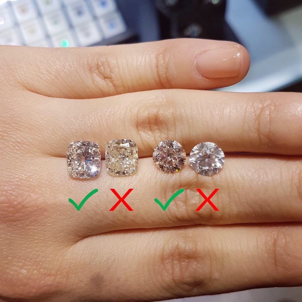 LB Diamond Difference, Theirs vs Ours: Color & Clarity