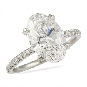 The Perfect Oval Diamond
