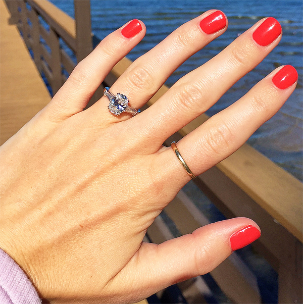 Finger Coverage Which Diamonds Are Best For Bigger Hands And Longer Fingers Jewelry Blog Engagement Rings Diamonds Lauren B