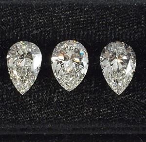 Pear Shape Diamonds
