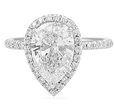Pear Shape Diamonds For Engagement Rings Are Back Jewelry Blog