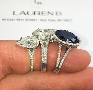 split band engagement rings