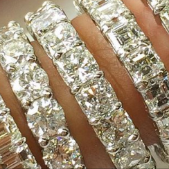 large rings bands s wedding diamond
