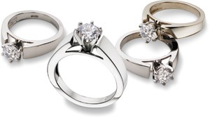 Platinum vs White Gold?  Choosing the right metal for your engagement ring