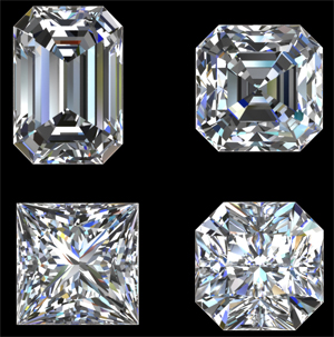 Image result for asscher solitaire hall of mirrors