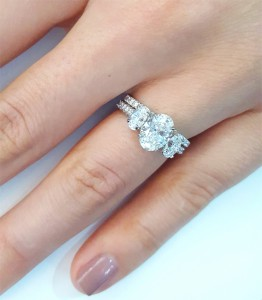 Tips For Pairing Your Three Stone Engagement Ring With A Wedding