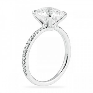 diamond low halo rings side round products dsc moissanite star profile bezel engagement palladium fb ring dust size