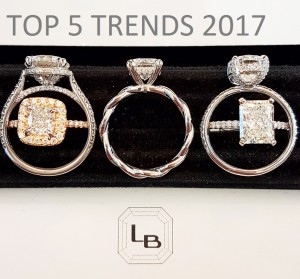 Countdown: Emerging Engagement Ring Trends for 2017
