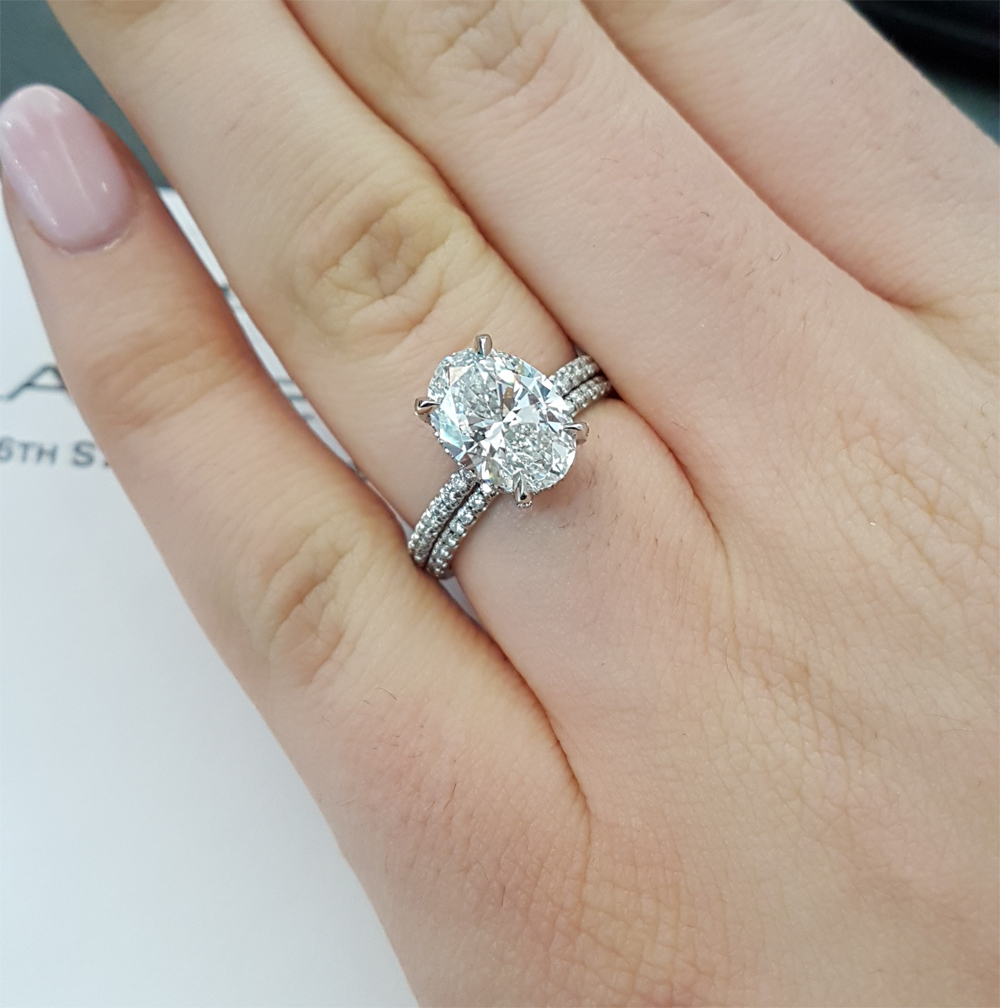 what band works best with your ring - Engagement Ring Wedding Band