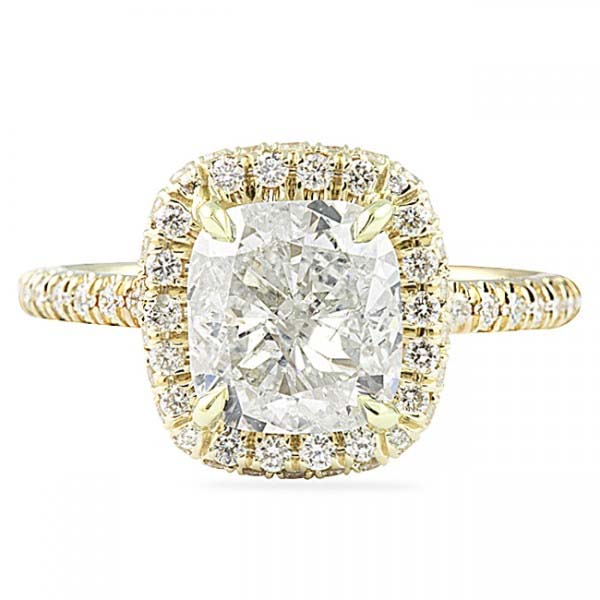 ec9c1bc5ecc69 Spotlight On: Yellow Gold Engagement Rings Comeback | Jewelry Blog ...