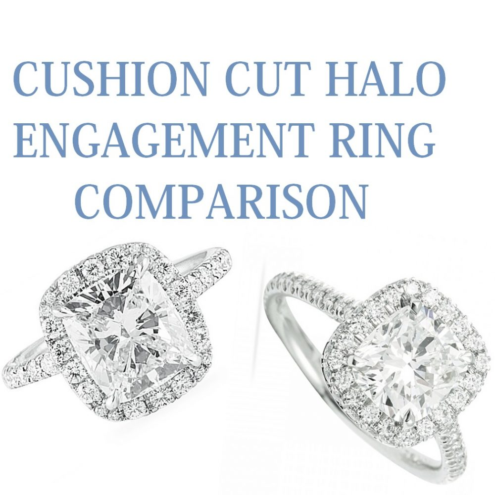 Cushion Cut Halo Comparisons