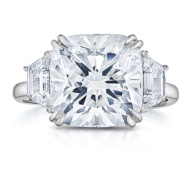 34104e1fcba All About Trapezoid Side Stones: Three Stone Engagement Ring Series ...