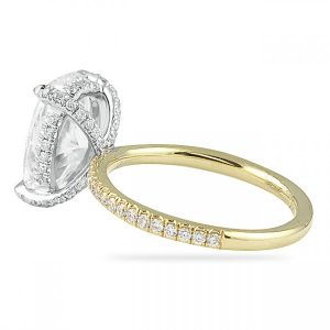 Ways to Style Your Engagement Ring; Different Basket Styles
