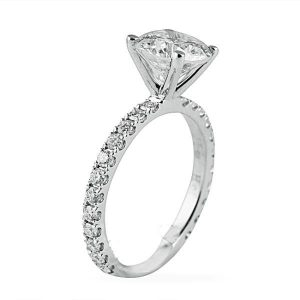 Rounded vs. Square Pave bandsfrom Lauren B