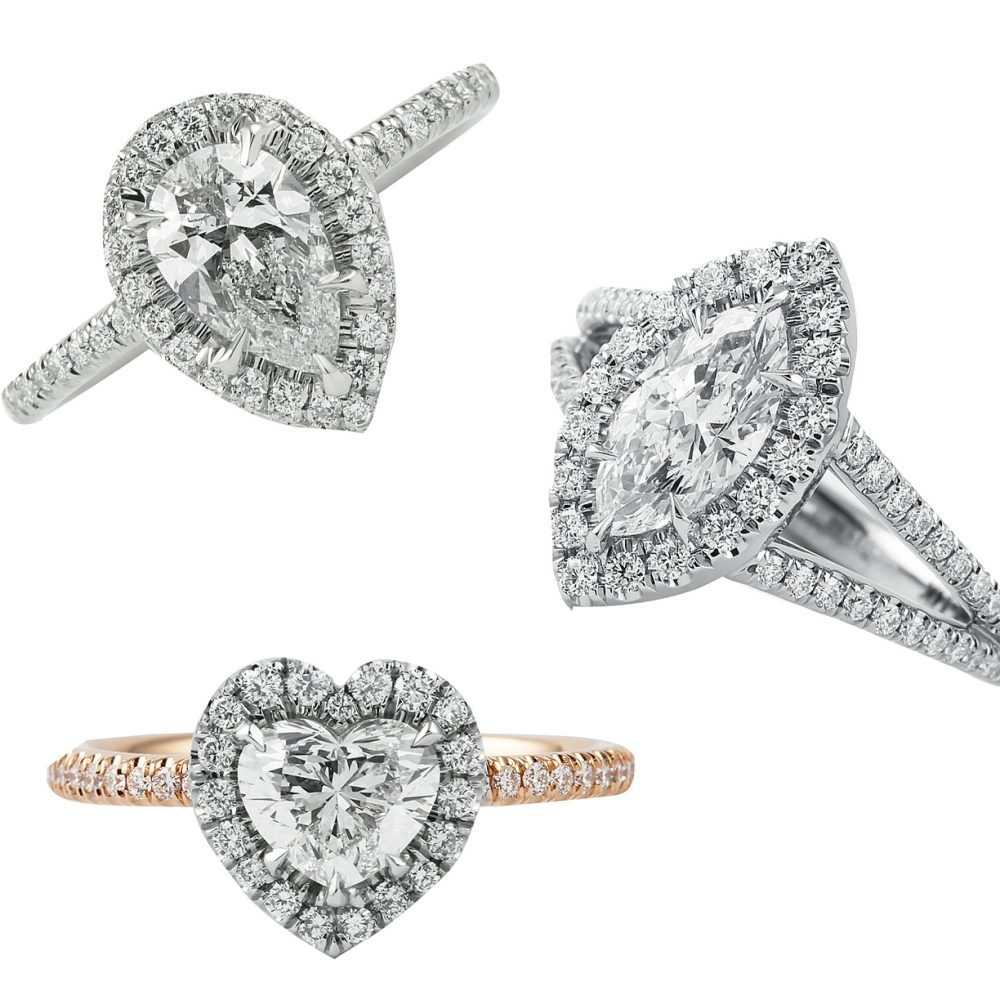 5 Diamond Engagement Ring Ideas Under $5500