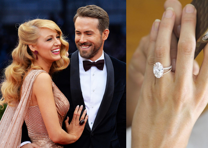 CELEBRITY ENGAGEMENT RINGS Jewelry Blog Engagement Rings