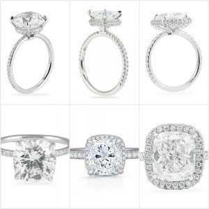Which Cushion Cut Engagement Ring is Right For You?