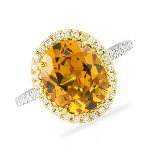 November Birthstone : Topaz and Citrine