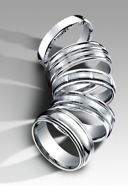 Four Types Of Men S Wedding Bands Ideas From Lb Jewelry