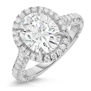 Selecting the Size of Your Moissanite