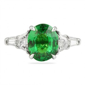 Emerald VS. Tsavorite Green Gemstone Comparison