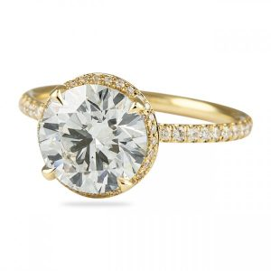 Yellow Gold Enement Rings | Spotlight On Yellow Gold Engagement Rings Comeback Jewelry Blog