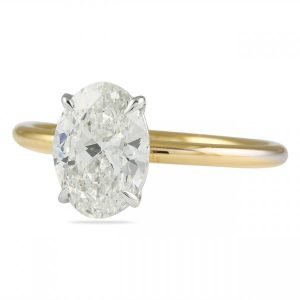 Lauren B Engagement Ring Styles Compared featuring Oval Diamonds