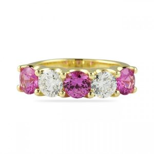 Colored Gemstone Bands: Assorted Colors for Every Occasion