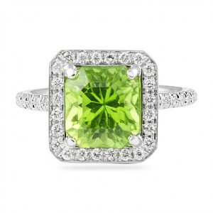August Birthstone of the Month with Lauren B: Green Peridot
