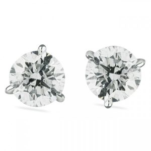 1.03 CT TW Diamond Stud Earrings gift