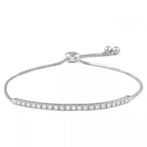 .60 ct Diamond Zip Up Tassel Bracelet gift