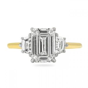 Wedding Band Guide for Three Stone Engagement Rings