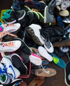pile of various shoe types