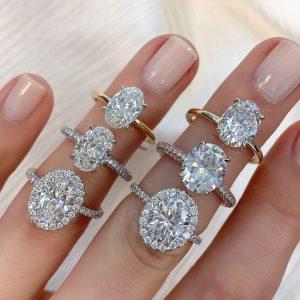 Diamonds 101: The Oval Cut