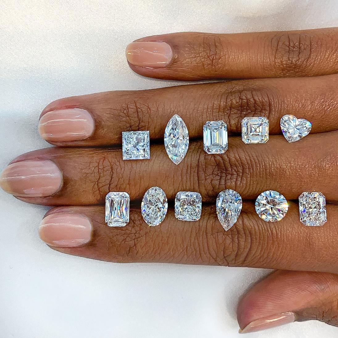 How to Choose a Diamond Shape: Comparing Popular Diamond Shapes