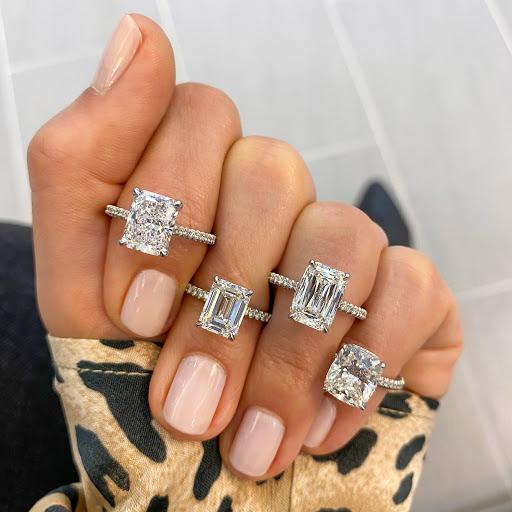 Elongated Diamond Shapes Emerald Radiant Hybrid Step Cuts And Cushion Diamonds Jewelry Blog Engagement Rings Diamonds Lauren B