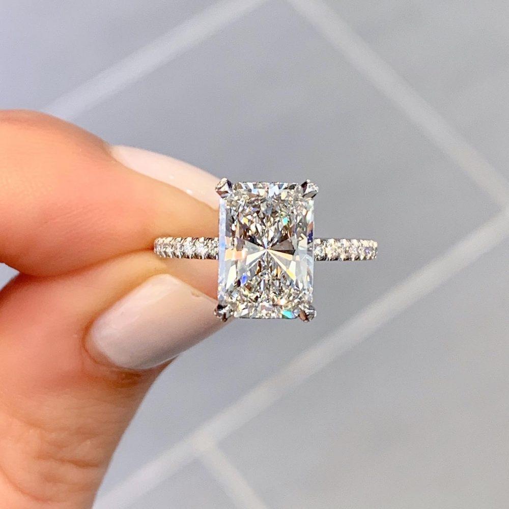 Pin on Princess Engagement Ring