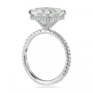 lauren b signature wrap diamond ring